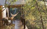 Zelt mit Terrasse