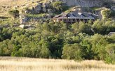 Lodge mit Blick auf die Battlefields