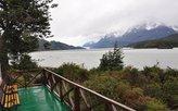 Blick über den See zum Grey-Gletscher