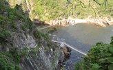 Hängebrücken über den Stroms River
